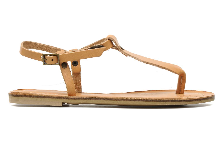 Sandales et nu-pieds Quiksilver Bloomsdale Beige vue derrière