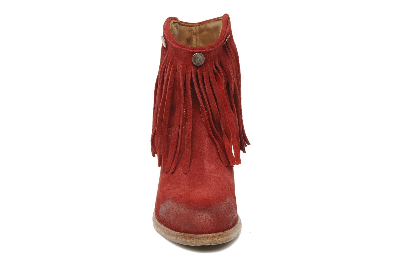Boots en enkellaarsjes Swildens Izie F Rood model