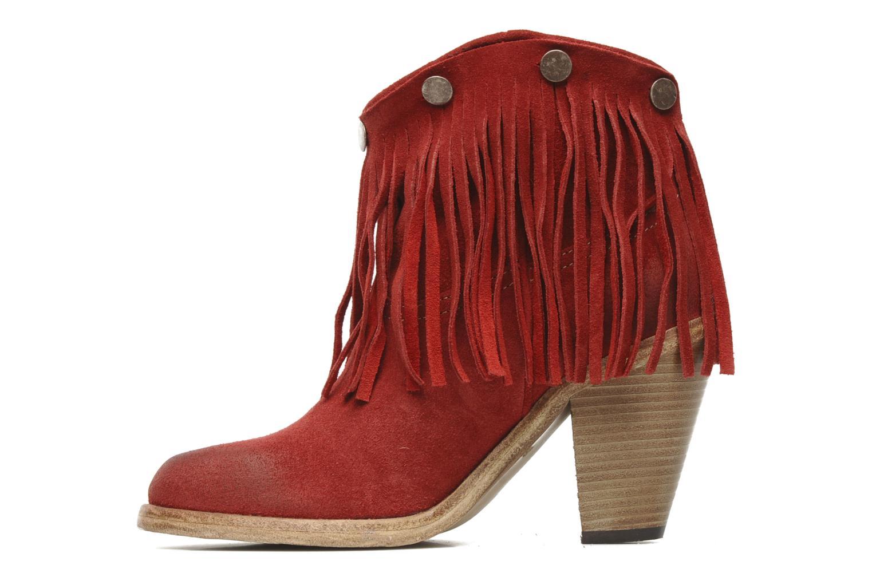 Boots en enkellaarsjes Swildens Izie F Rood voorkant