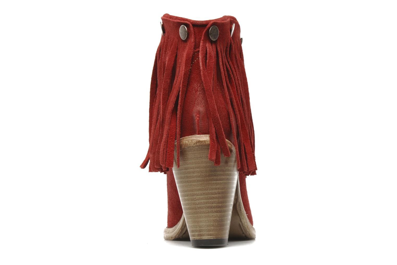 Boots en enkellaarsjes Swildens Izie F Rood rechts