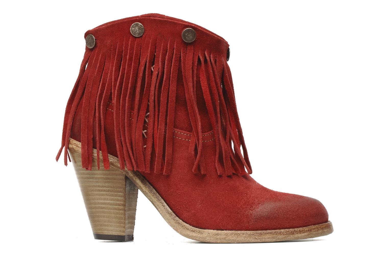Boots en enkellaarsjes Swildens Izie F Rood achterkant