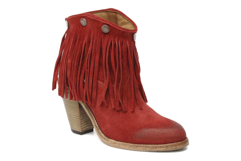 Boots en enkellaarsjes Swildens Izie F Rood detail