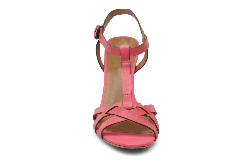 Sandales et nu-pieds Pastelle Capucine Rose vue portées chaussures