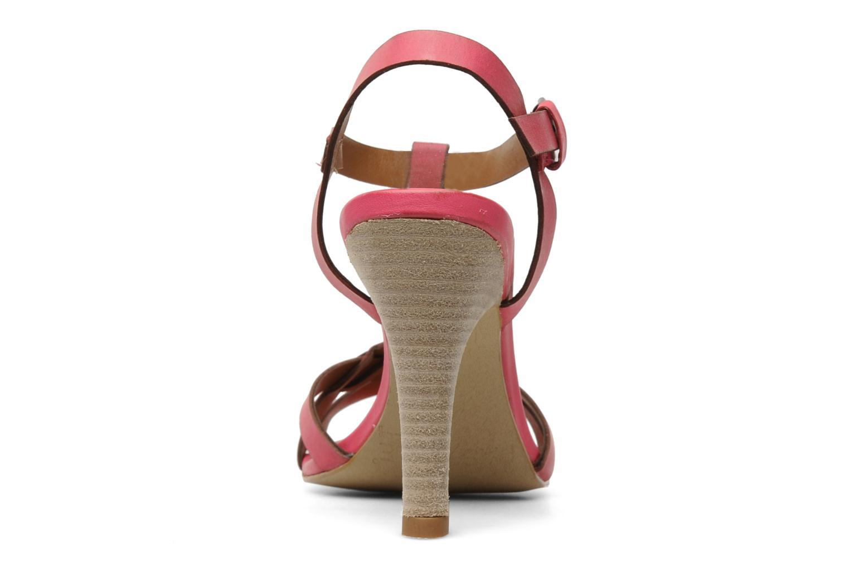 Sandales et nu-pieds Pastelle Capucine Rose vue droite