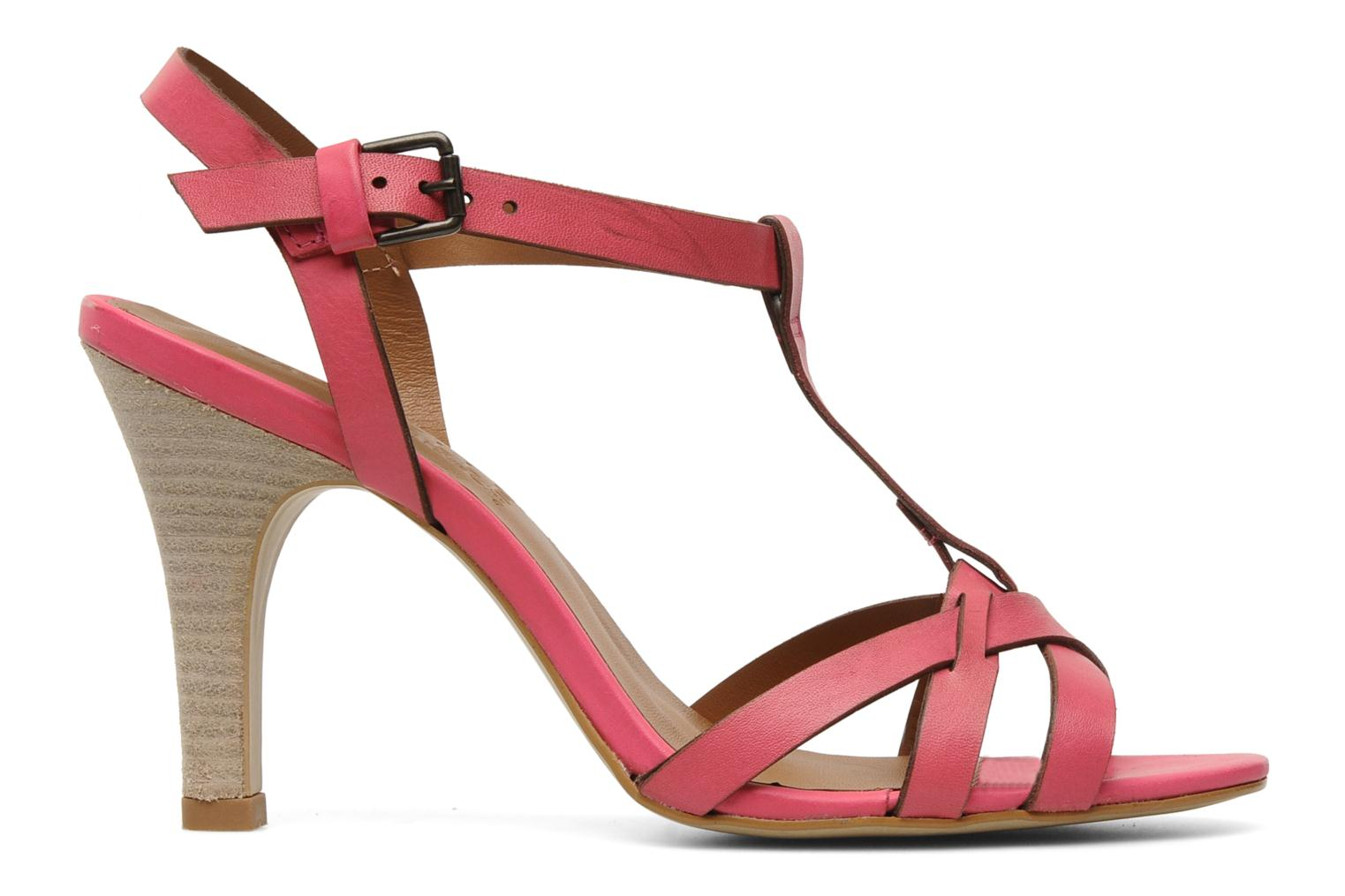 Sandals Pastelle Capucine Pink back view