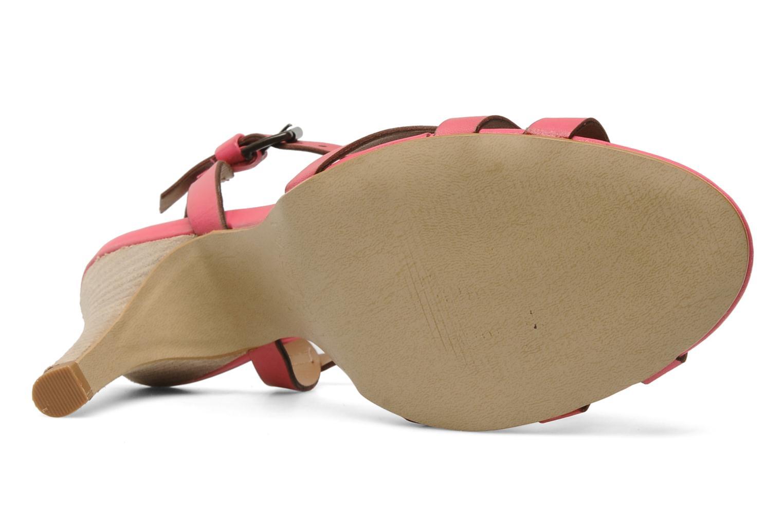 Sandalen Pastelle Capucine rosa ansicht von oben