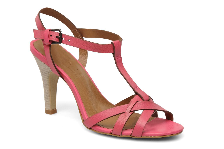 Sandales et nu-pieds Pastelle Capucine Rose vue détail/paire