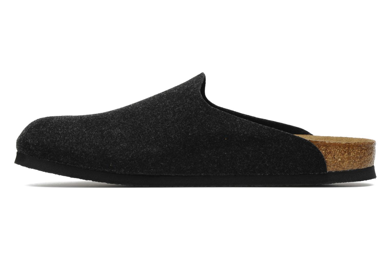 Sandales et nu-pieds Birkenstock Amsterdam M Gris vue face
