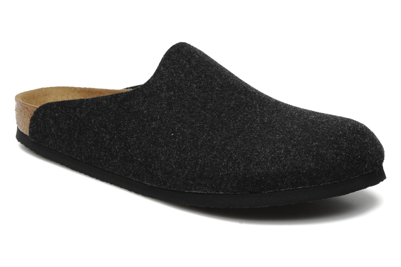 Sandales et nu-pieds Birkenstock Amsterdam M Gris vue détail/paire