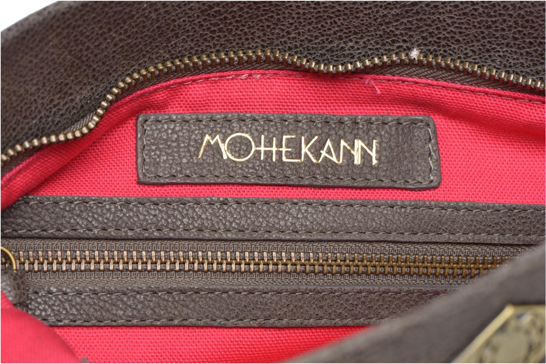 Sacs à main Mohekann Navajo Gris vue derrière