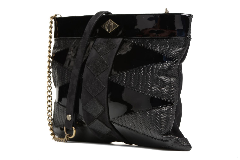 Handtaschen Mohekann Navajo schwarz schuhe getragen
