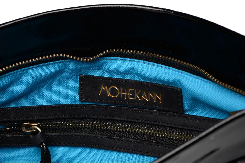 Handtaschen Mohekann Navajo schwarz ansicht von hinten