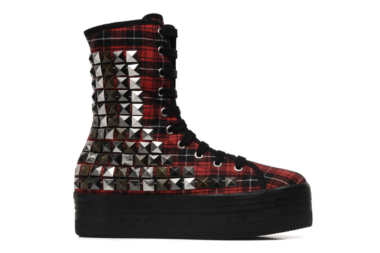 Bottines et boots Jeffrey Campbell Lockness Rouge vue derrière
