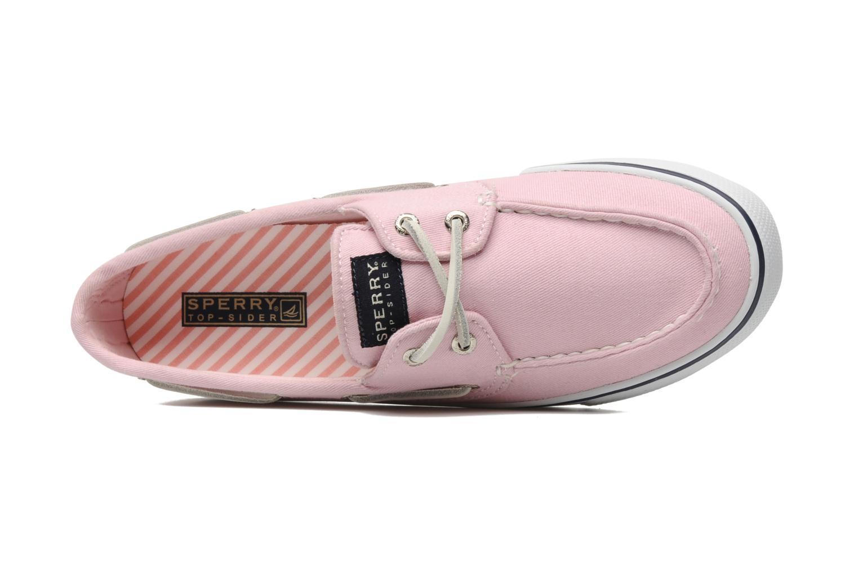 Chaussures à lacets Sperry Bahama 96886 Rose vue gauche