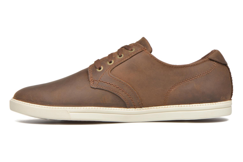 Zapatos con cordones Timberland Earthkeepers Newmarket LP Ox Marrón vista de frente