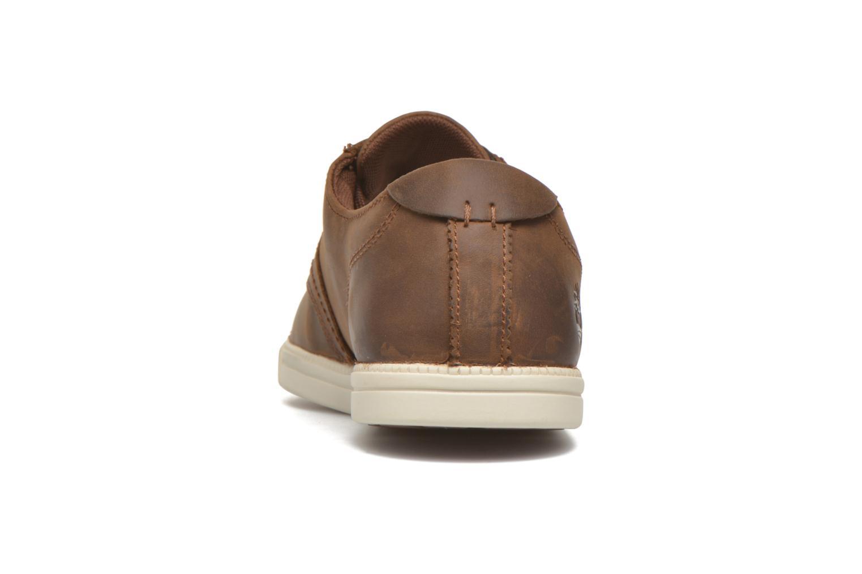 Zapatos con cordones Timberland Earthkeepers Newmarket LP Ox Marrón vista lateral derecha