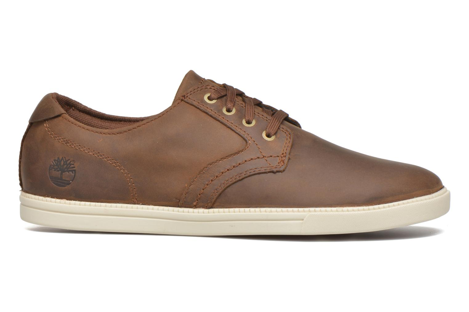 Chaussures à lacets Timberland Earthkeepers Newmarket LP Ox Marron vue derrière