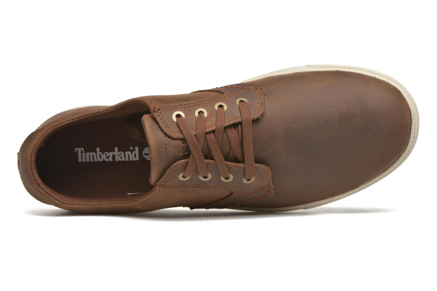 Lace-up shoes Timberland Earthkeepers Newmarket LP Ox Brown view from the left