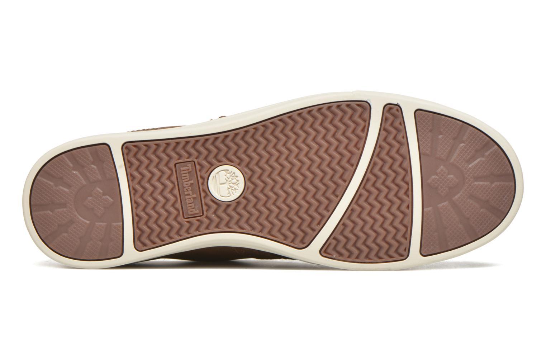 Zapatos con cordones Timberland Earthkeepers Newmarket LP Ox Marrón vista de arriba