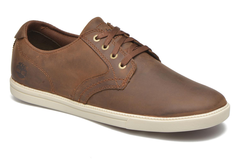 Zapatos con cordones Timberland Earthkeepers Newmarket LP Ox Marrón vista de detalle / par