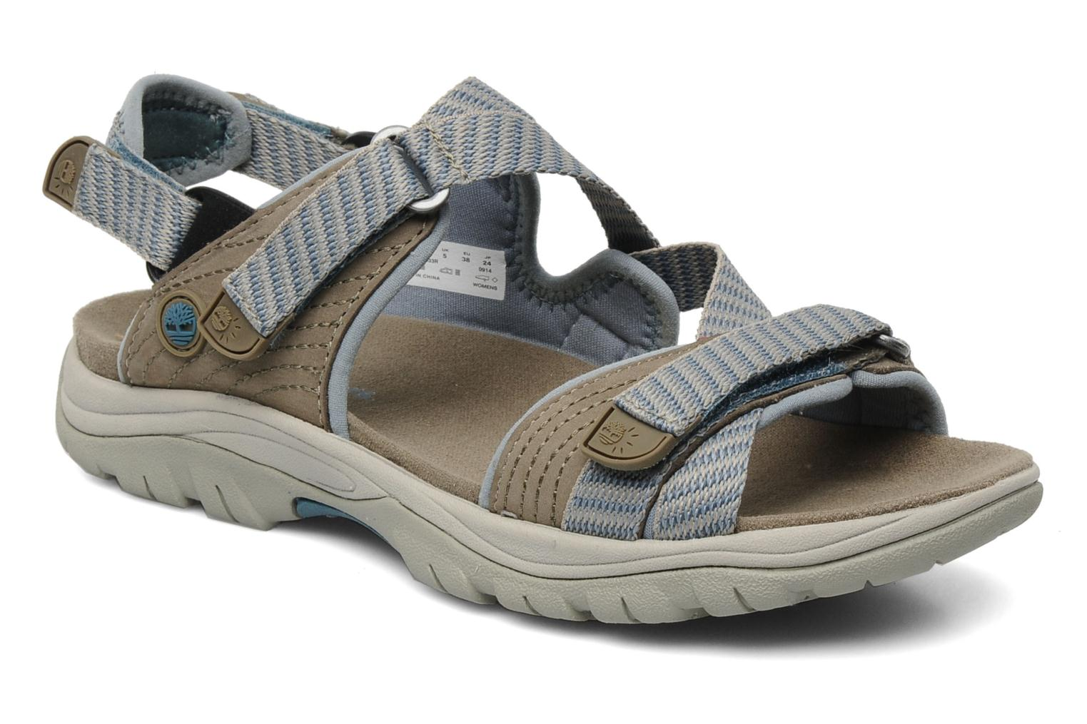 Earthkeepers Jordan Pond Sandal Warm Grey with Blue