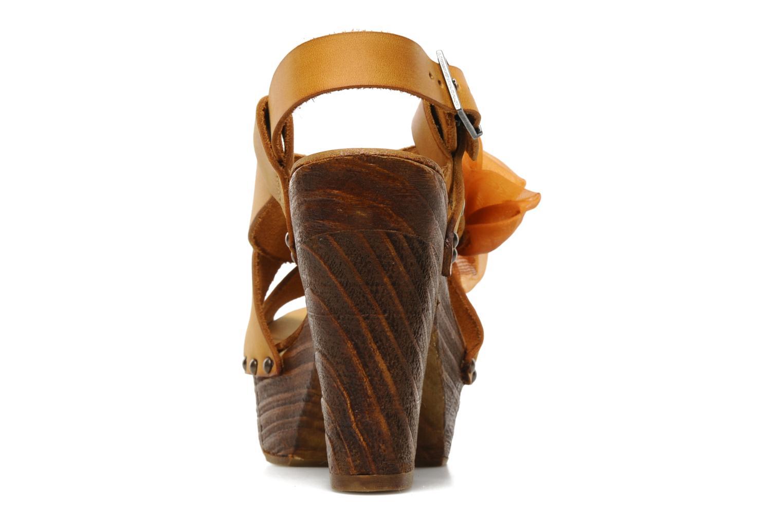 Sandales et nu-pieds Neosens Carina 173 Orange vue droite