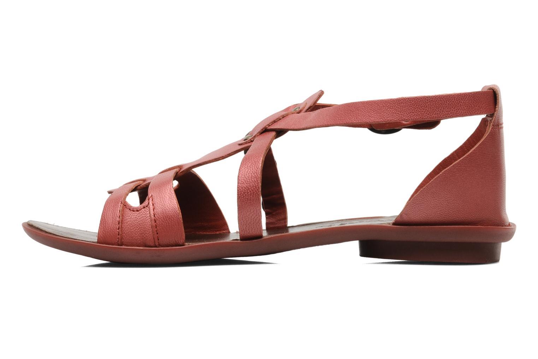 Sandalen Kickers ZEBRAH Rood voorkant