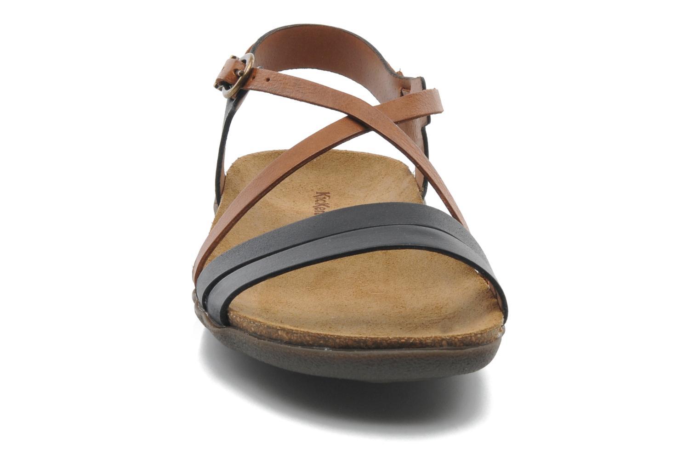 Sandalen Kickers Atomium mehrfarbig schuhe getragen