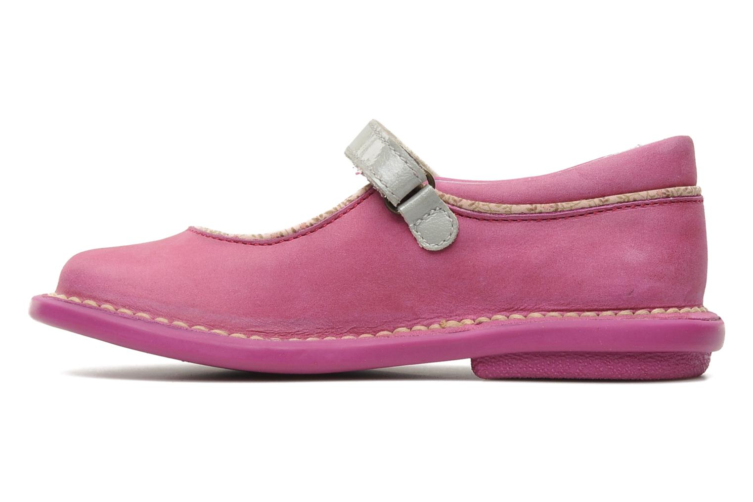 Ballerines Kickers MADELYN Rose vue face