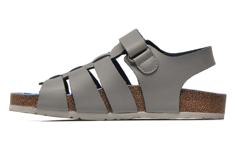Sandali e scarpe aperte Kickers MAGINO Grigio immagine frontale