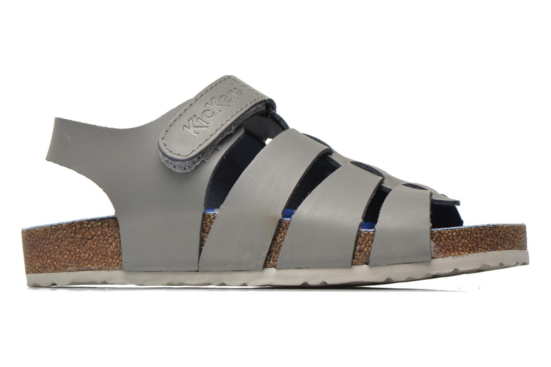 Sandali e scarpe aperte Kickers MAGINO Grigio immagine posteriore