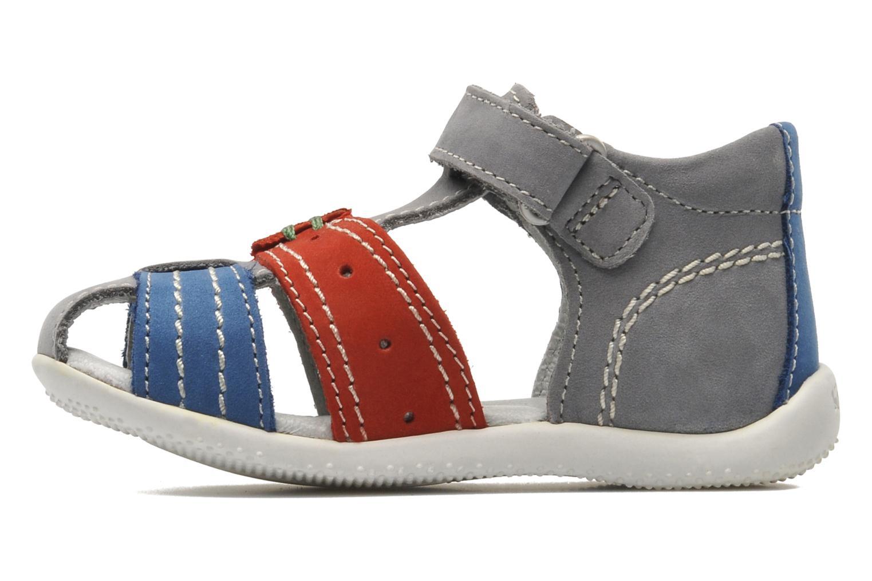 Sandalen Kickers BIGBAZAR grau ansicht von vorne