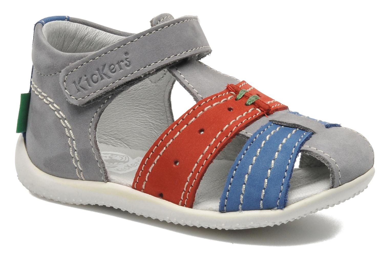 Sandalen Kickers BIGBAZAR grau detaillierte ansicht/modell