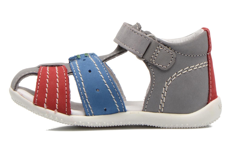 Sandali e scarpe aperte Kickers BIGBAZAR Grigio immagine frontale