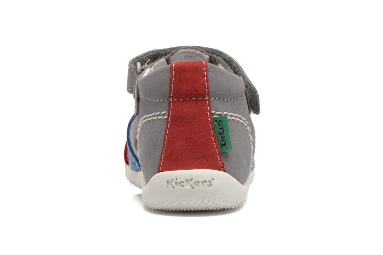 Sandali e scarpe aperte Kickers BIGBAZAR Grigio immagine destra