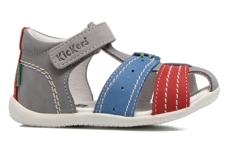 Sandali e scarpe aperte Kickers BIGBAZAR Grigio immagine posteriore