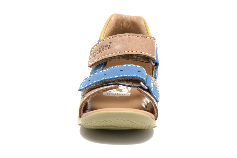 Sandales et nu-pieds Kickers BOPING Beige vue portées chaussures