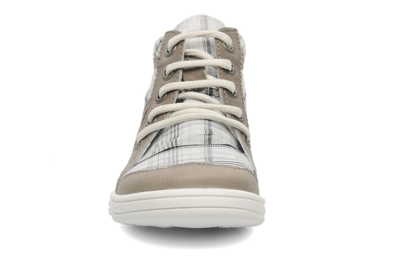 Bottines et boots Kickers TEOPHANE Gris vue portées chaussures