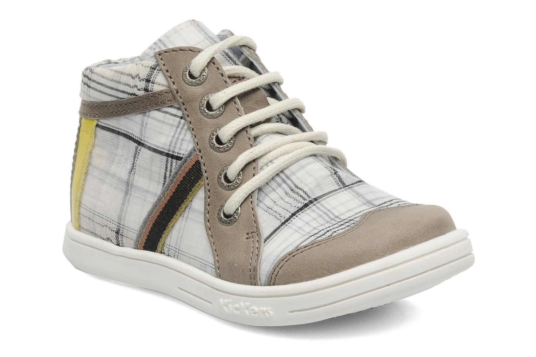 Bottines et boots Kickers TEOPHANE Gris vue détail/paire