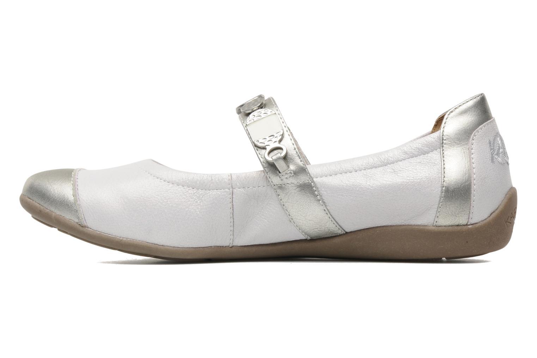 Ballerina's Karston Kekos Zilver voorkant