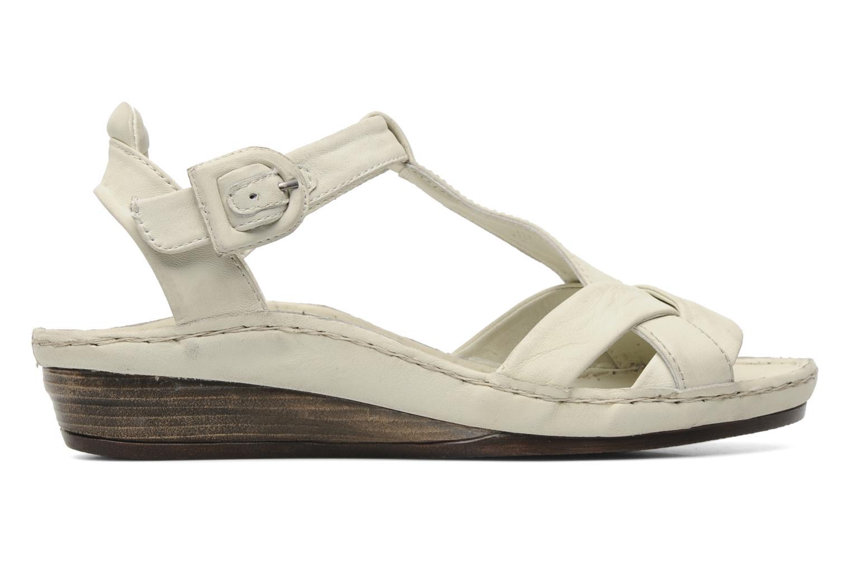 Sandales et nu-pieds Karston Iris Blanc vue derrière