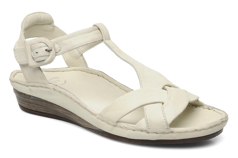 Sandales et nu-pieds Karston Iris Blanc vue détail/paire