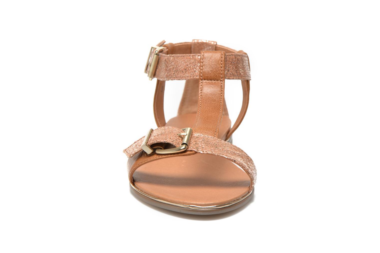 Sandales et nu-pieds Karston Sobel Or et bronze vue portées chaussures