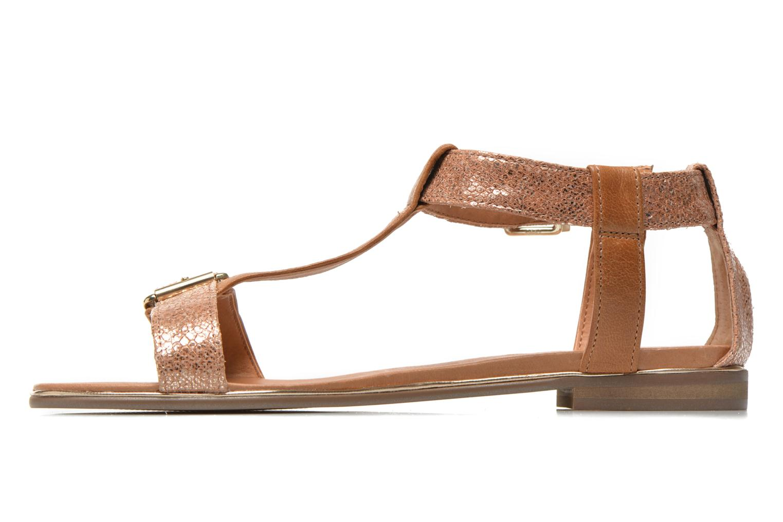 Sandalen Karston Sobel gold/bronze ansicht von vorne