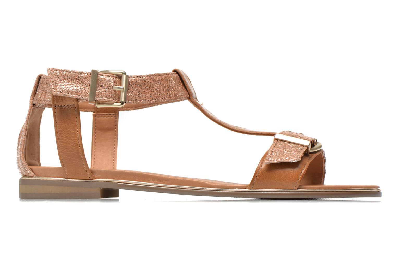 Sandales et nu-pieds Karston Sobel Or et bronze vue derrière