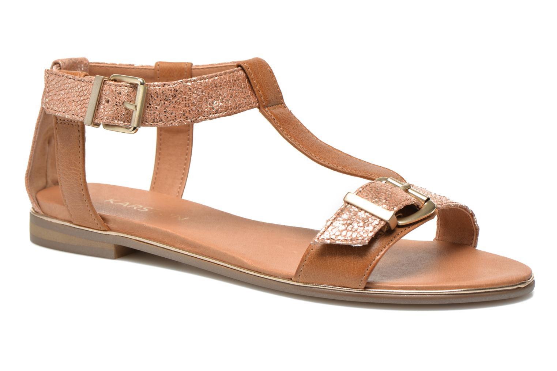 Sandales et nu-pieds Karston Sobel Or et bronze vue détail/paire