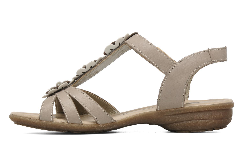 Sandalen Remonte SONDRA R3657 Beige voorkant