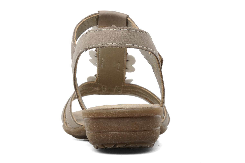 Sandalen Remonte SONDRA R3657 Beige rechts