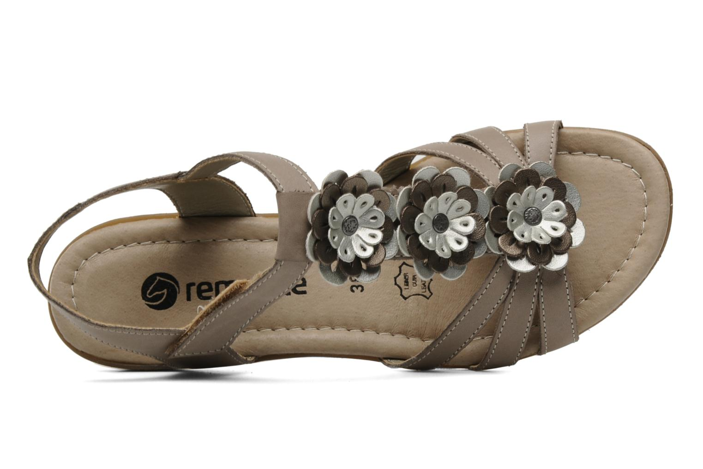 Sandalen Remonte SONDRA R3657 Beige links