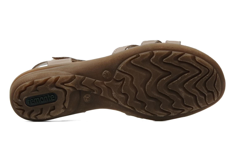 Sandalen Remonte SONDRA R3657 Beige boven